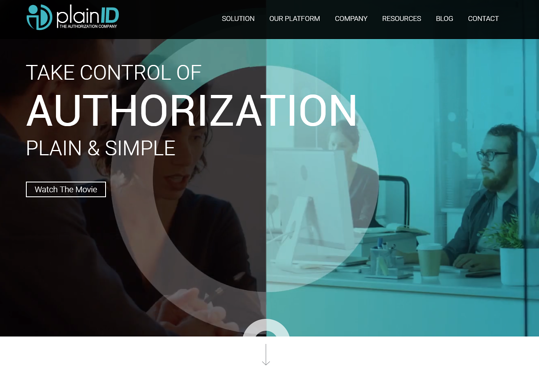 plainid new website authorization