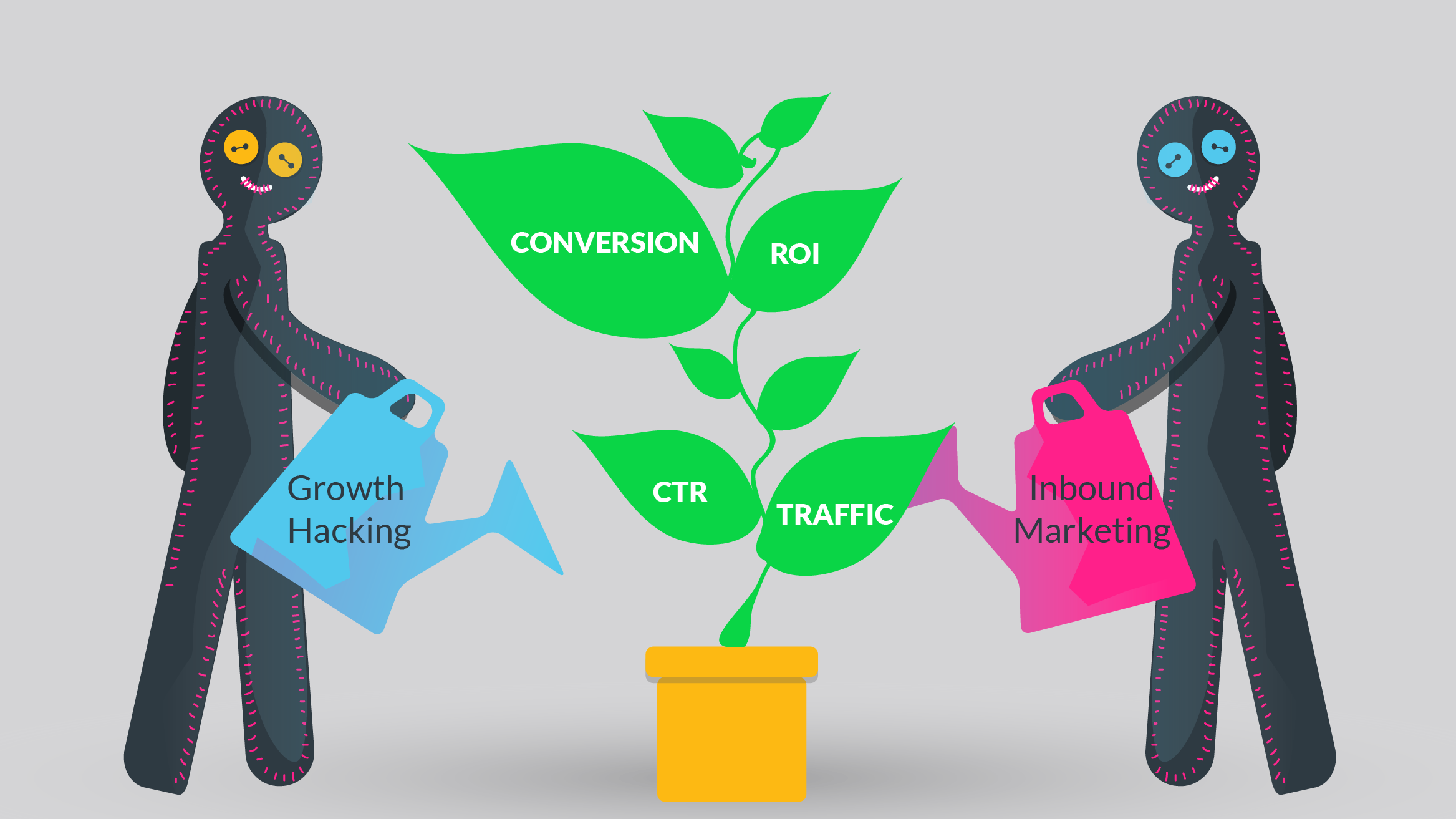 Inbound Marketing Vs. Growth Hacking; Choosing the Right Strategy
