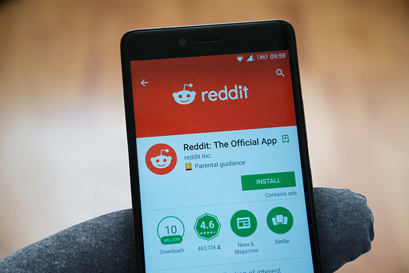 Reddit - A Tech Marketer's Box of Delights