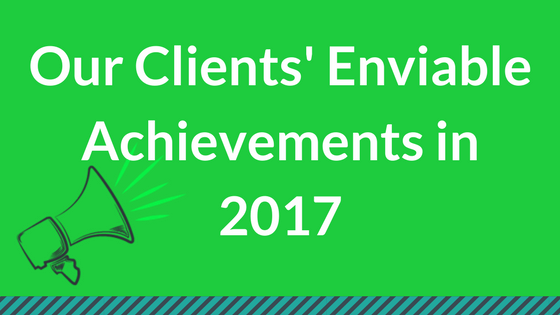 Our Clients' 2017 B2B Marketing Achievements